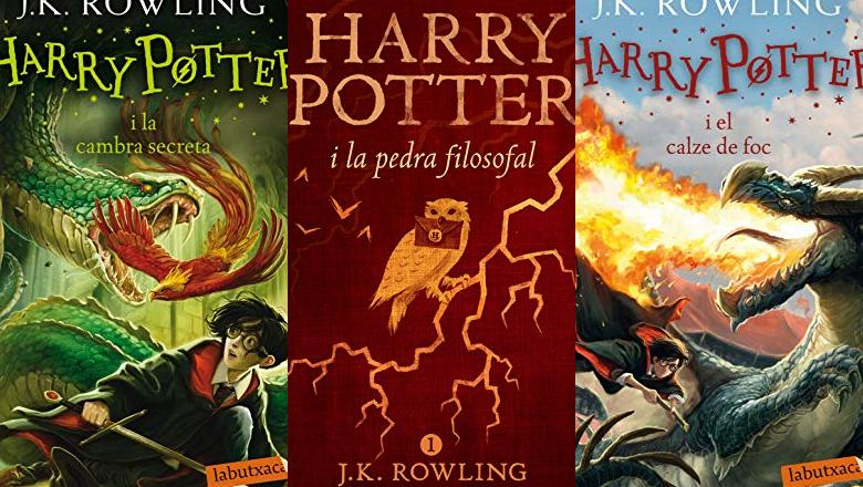 LIBROS HARRY POTTER EN CATALAN