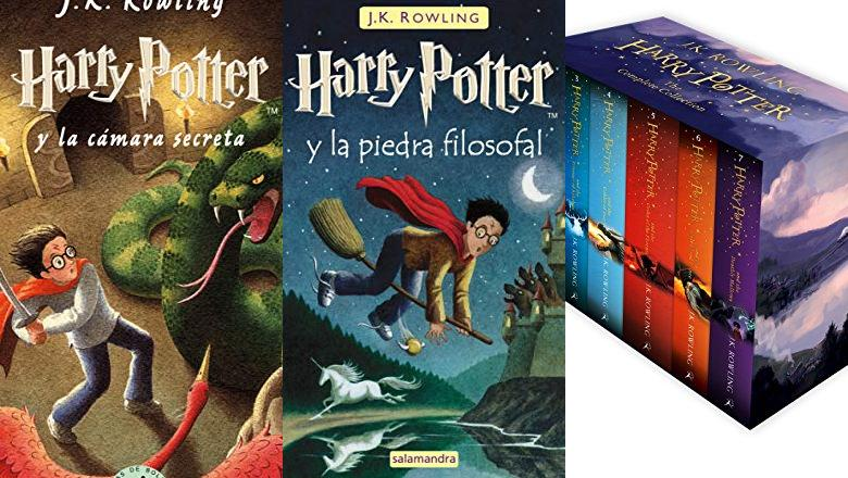 LIBROS HARRY POTTER COLECCION COMPLETA