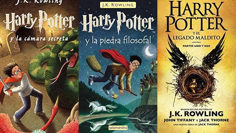 LIBRO HARRY POTTER COLECCION
