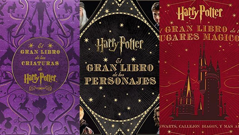 LIBRO HARRY POTTER CRIATURAS
