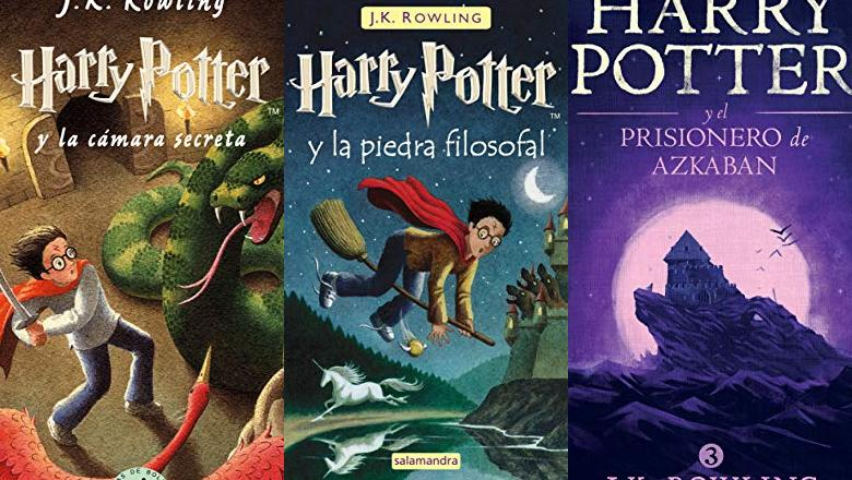 LIBRO DE HARRY POTTER ESPAÑOL