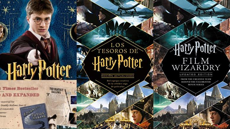 LIBRO DE HARRY POTTER FILM WIZARDRY