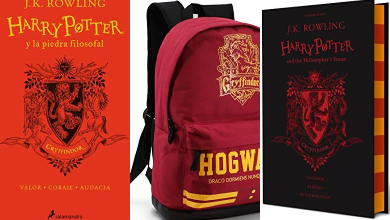 LIBRO DE HARRY POTTER GRYFFINDOR