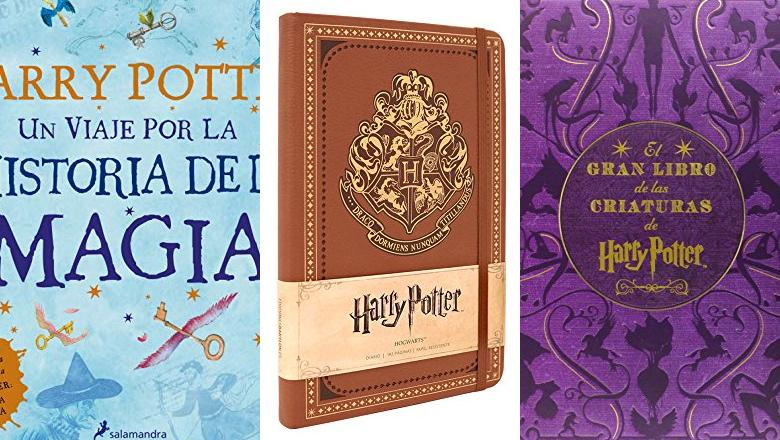 LIBRO DE HARRY POTTER DE HECHIZOS