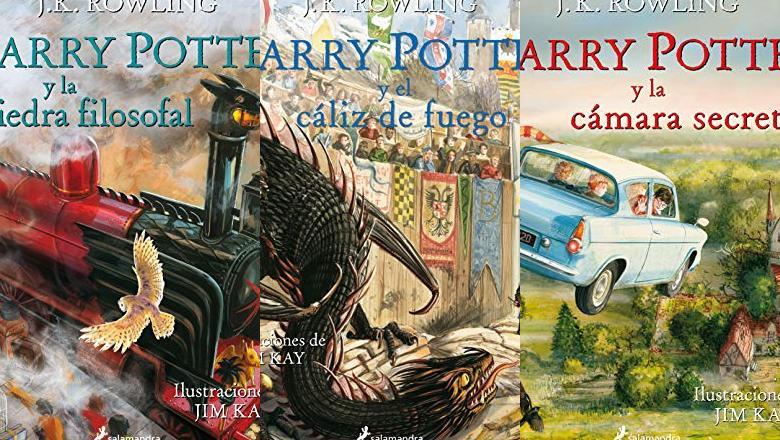 LIBRO HARRY POTTER ILUSTRADO EN ESPAÑOL