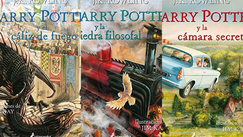 LIBRO DE HARRY POTTER ILUSTRADO