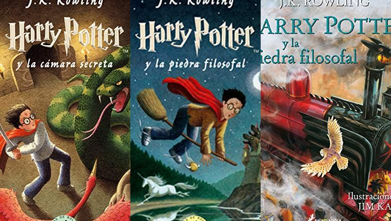 LIBRO HARRY POTTER INFANTIL