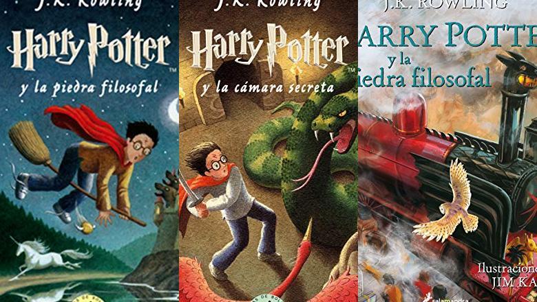 LIBRO DE HARRY POTTER PARA NIÑOS