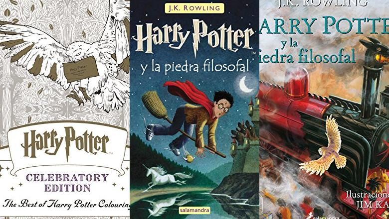 LIBRO HARRY POTTER PELICULA