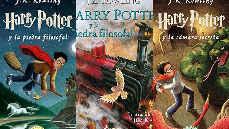 LIBRO DE HARRY POTTER Y LA PIEDRA FILOSOFAL