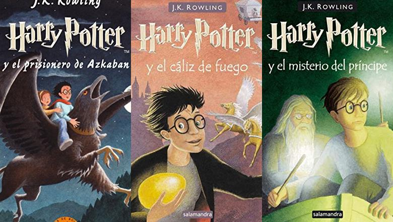 LIBRO DE HARRY POTTER SALAMANDRA