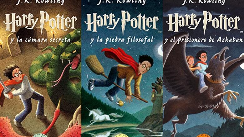 LIBRO DE HARRY POTTER TAPA BLANDA