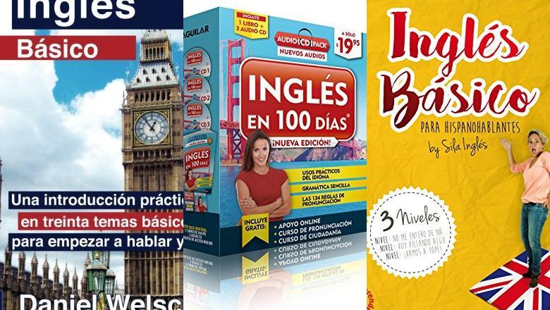 LIBROS DE INGLÉS BASICO