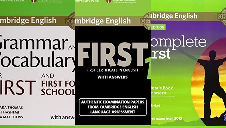 LIBROS DE INGLÉS CAMBRIDGE FIRST