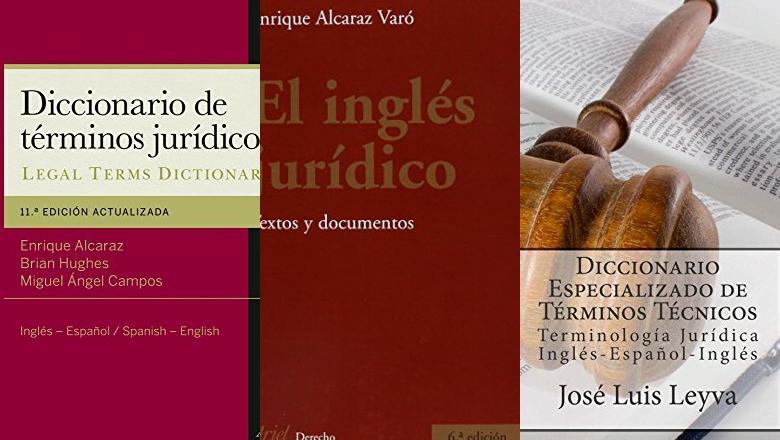 LIBROS DE INGLÉS JURIDICO