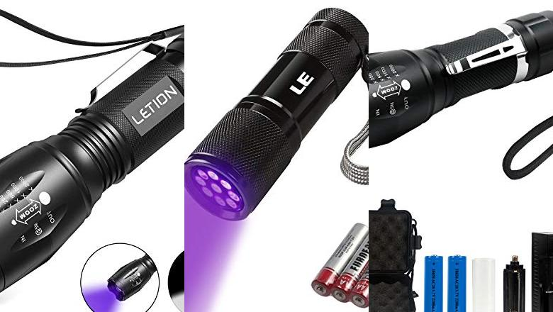 LINTERNAS ULTRAVIOLETA LED