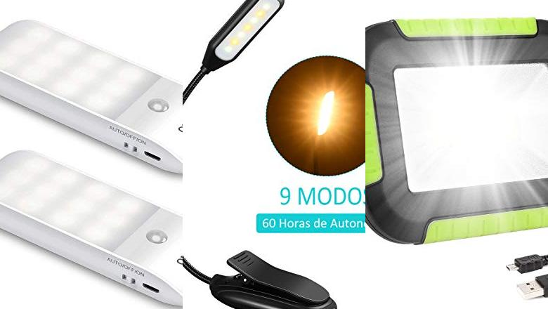 LUZ LED RECARGABLE