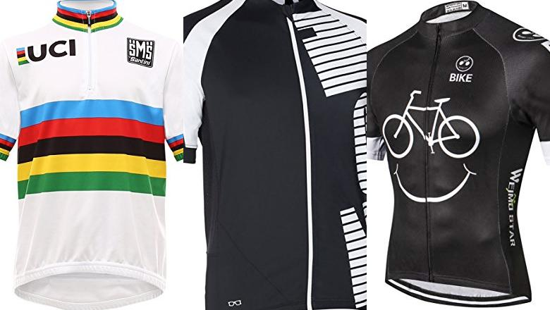 MAILLOT DE CICLISMO COLOR BLANCO