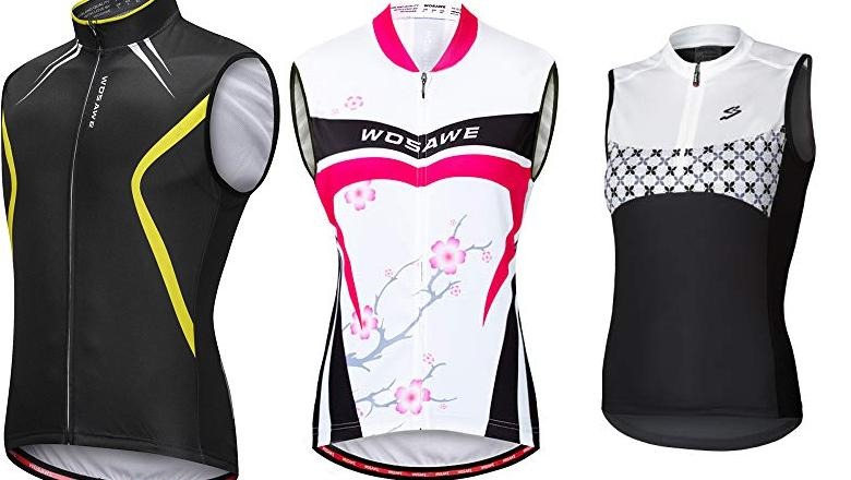 MAILLOT DE CICLISMO SIN MANGAS