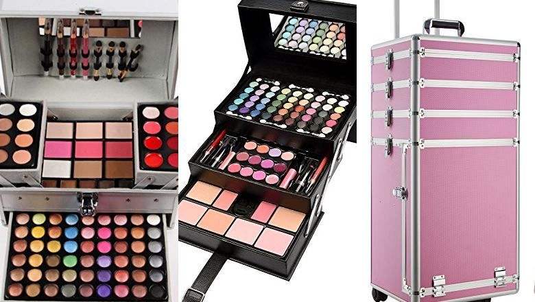 MALETIN MAQUILLAJE PROFESIONAL COMPLETO