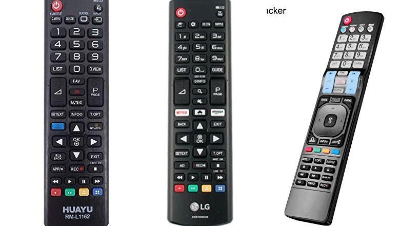 MANDO PARA TV LG