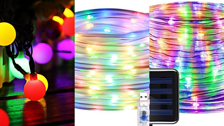 MANGUERAS LUCES LED MULTICOLOR EXTERIOR