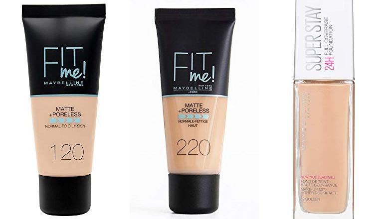 MAQUILLAJE MAYBELLINE FIT ME