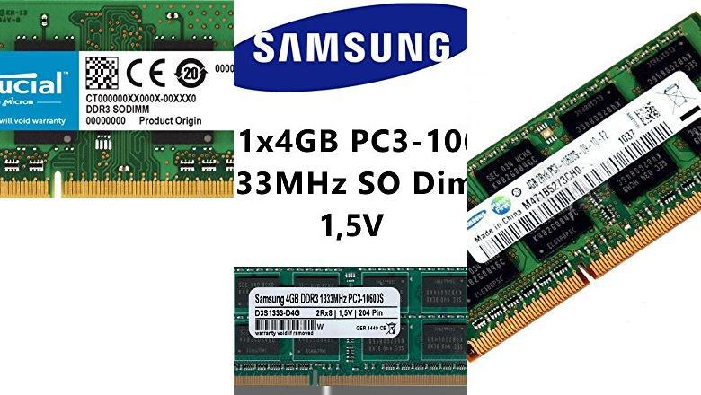 MEMORIA 4GB DDR3