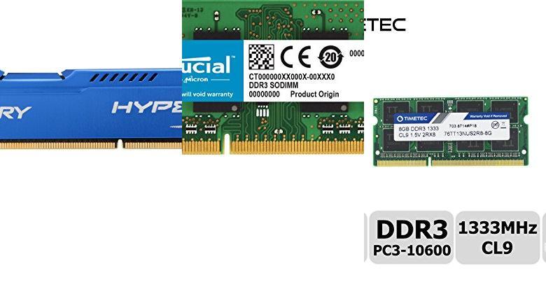 MEMORIAS 8GB DDR3