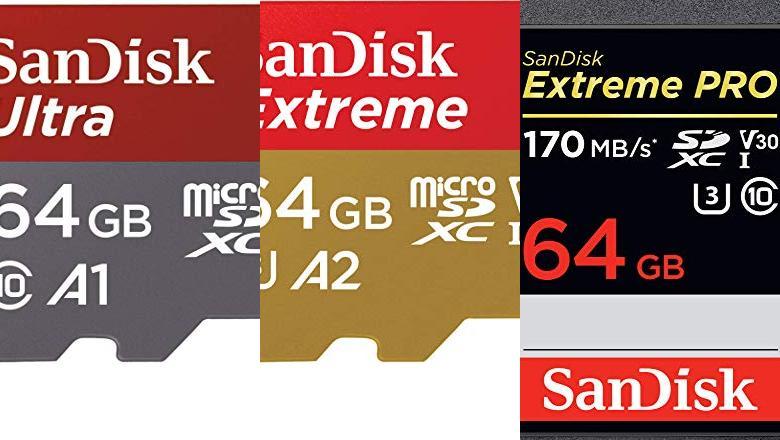 MEMORIAS SD 64GB