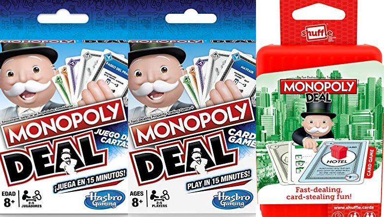 MONOPOLY CARTAS ESPAÑOL