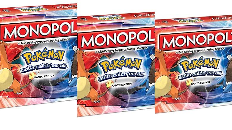 MONOPOLY POKEMON ESPAÑOL