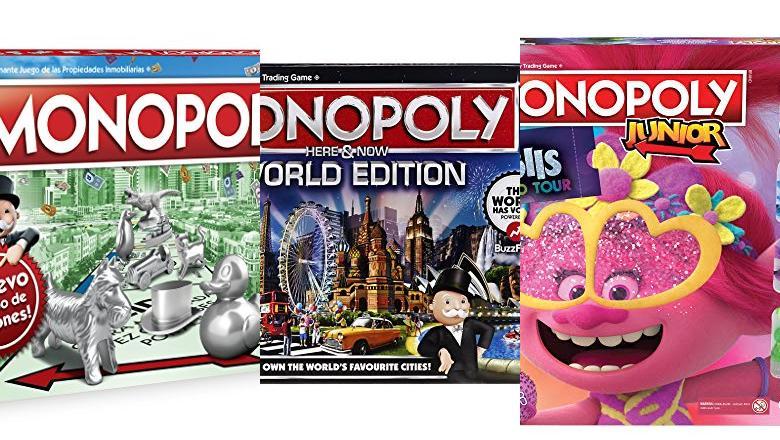 MONOPOLY WORLD EDITION