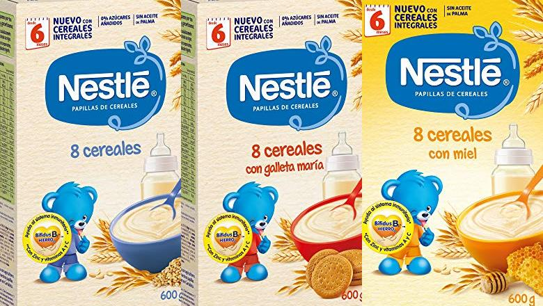PAPILLAS NESTLE 8 CEREALES