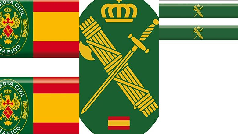 PEGATINA GUARDIA CIVIL