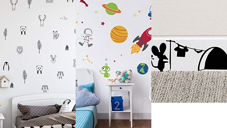 PEGATINA INFANTIL DECORATIVO PARED