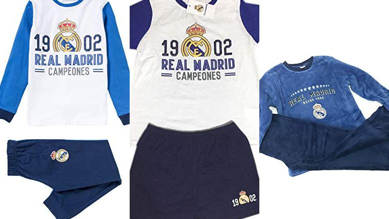 PIJAMAS REAL MADRID NIÑO