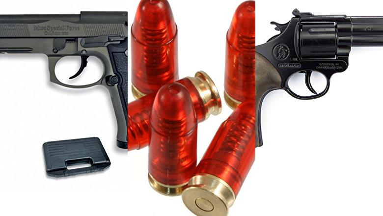 PISTOLA 9MM REAL
