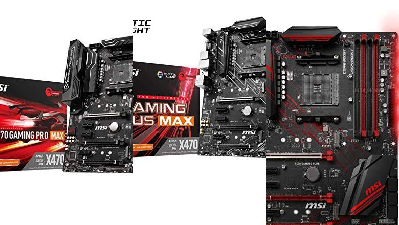 PLACAS BASE MSI X470 GAMING PLUS