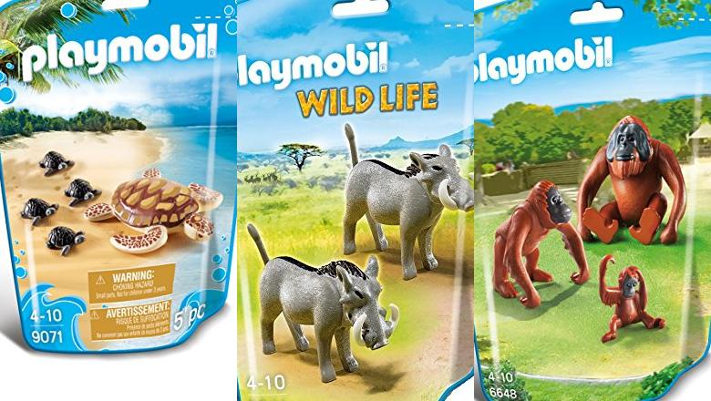 PLAYMOBIL ANIMALES