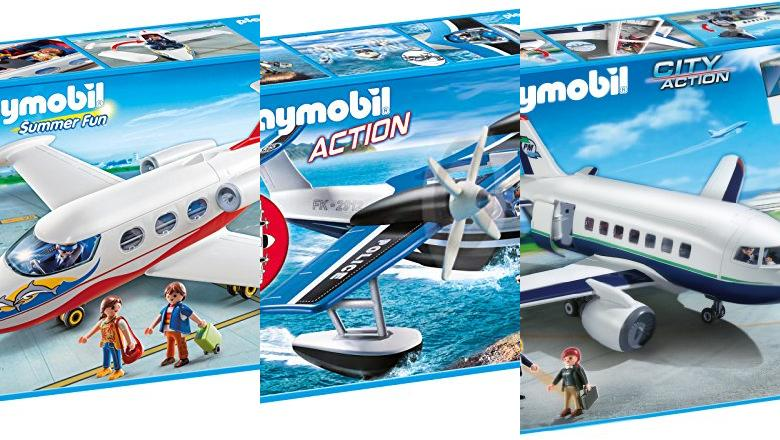 JUGUETES PLAYMOBIL AVION