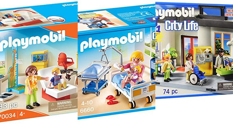 JUGUETES PLAYMOBIL HOSPITAL