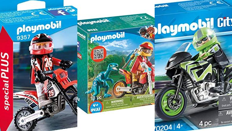 JUGUETES PLAYMOBIL MOTO