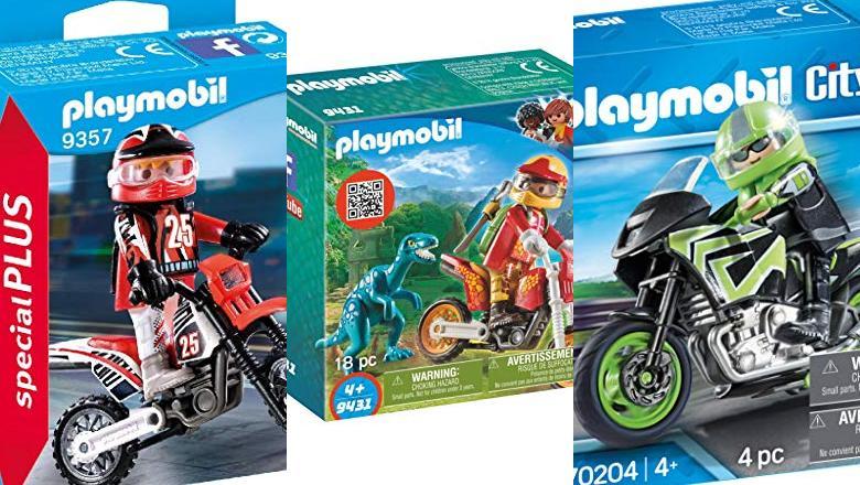 JUGUETES PLAYMOBIL MOTOCROSS