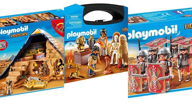 JUGUETES PLAYMOBIL PIRAMIDE DEL FARAON
