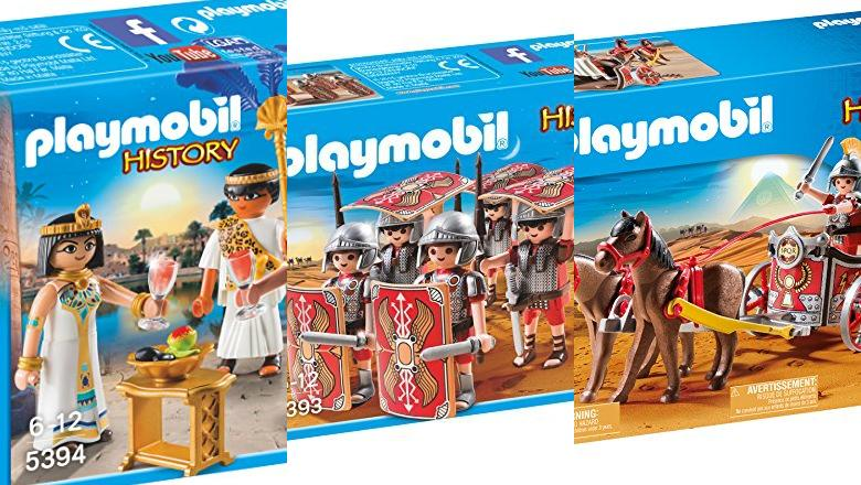 JUGUETES PLAYMOBIL ROMANOS Y EGIPCIOS