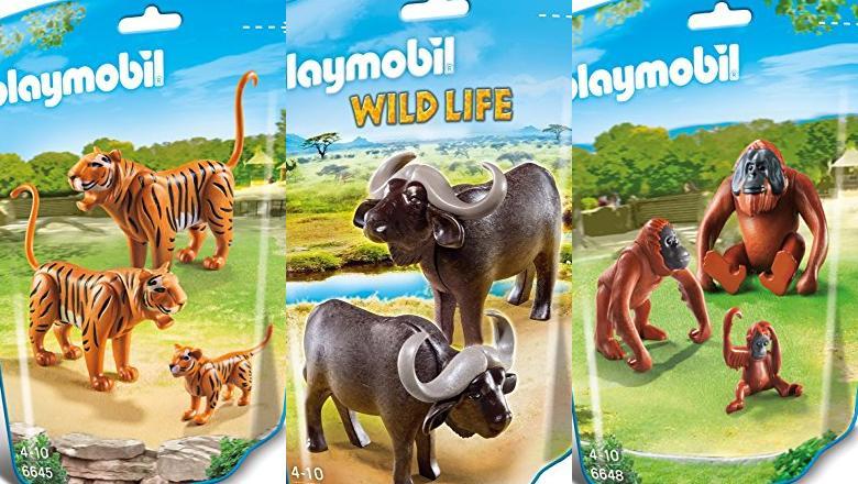 PLAYMOBIL WILD LIFE ANIMALES