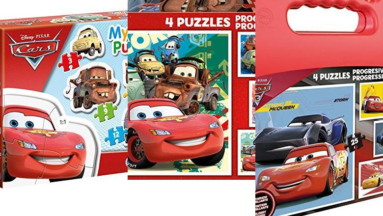 PUZZLE CARS 3 AÑOS