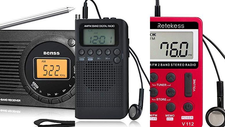 RADIO AM FM PORTÁTIL DE BOLSILLO