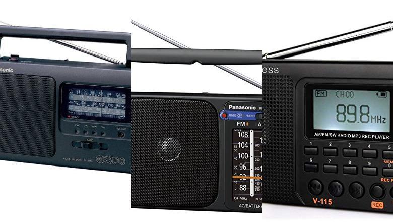 RADIO CON CABLE ALIMENTACION